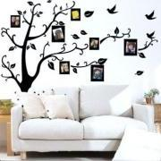 Wall Decal Sticker Removable Photo Frame Tree Family Quote Branches Home Decor