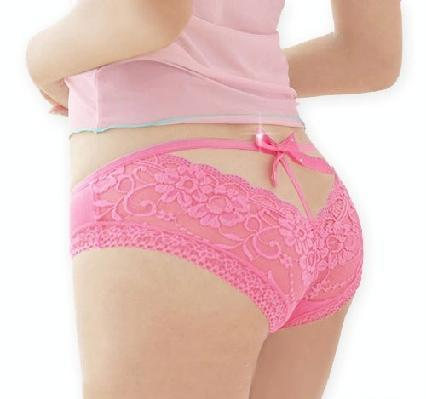 6736bfa54 New Sexy Butterfly Lace Womens Panties Pink on Luulla